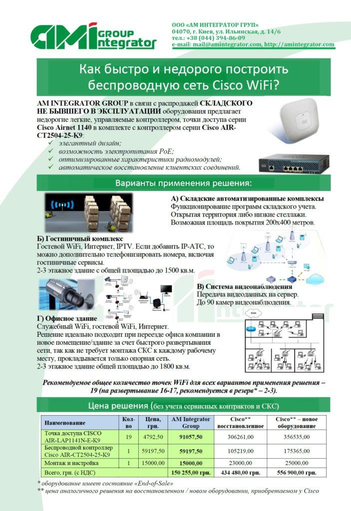 АМІнтегратор Group - WiFi v1a
